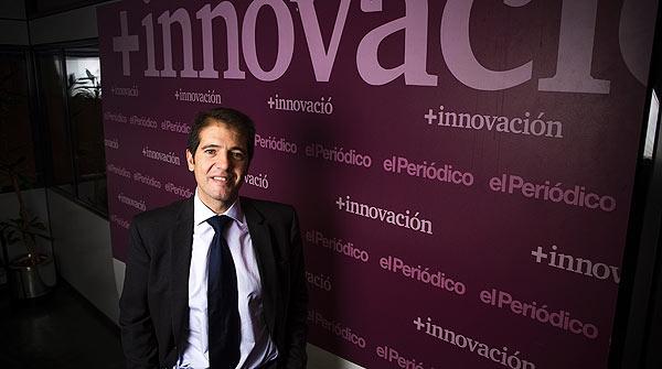 Entrevista para el suplemento '+ Innovación' con Óscar Martín, director general de Ecoembes.