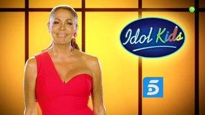 Isabel Pantoja, jurado de 'Idol Kids' en Telecinco.