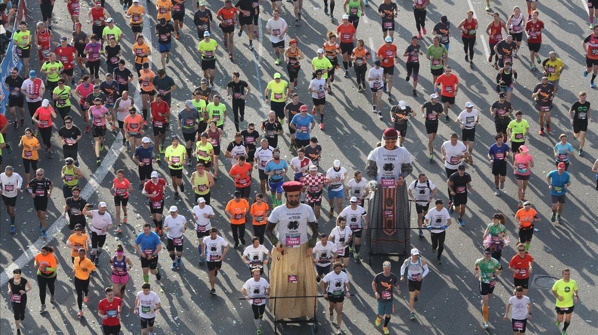 Los 10 testimonios del maratón de Barcelona