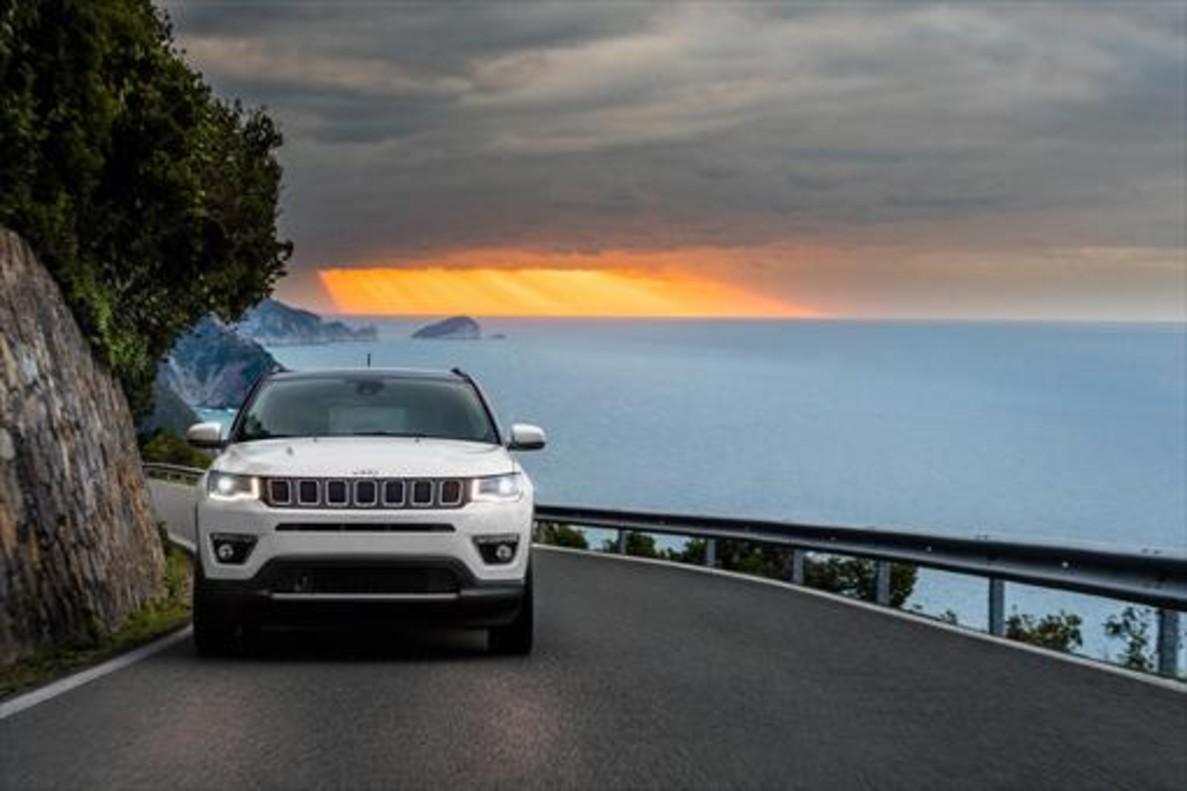 El Jeep Compass, uno de los SUV de la marca.
