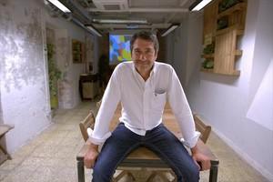 Jesús Vega, en su oficina de Madrid.