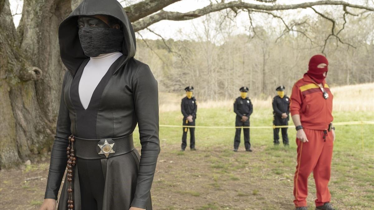Escena de la serie 'Watchmen', con 26 nominaciones a los premios Emmy.