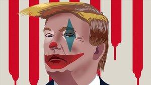 El Joker, en la Casa Blanca.