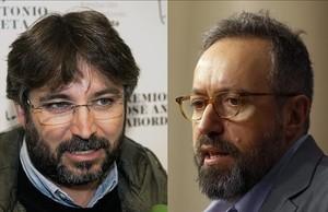 Jordi Évole y Juan Carlos Girauta.