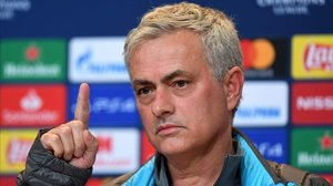 José Mourinho, el entrenador del Tottenham, en la rueda de prensa previa a la cita con el Bayern de Múnich.