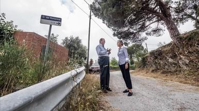Vecinos de Vallvidrera denuncian el mal estado de su barrio