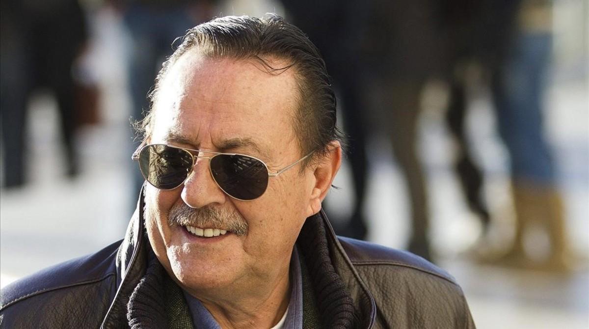 Una imagen de archivo de Julián Muñoz, en el 2013.