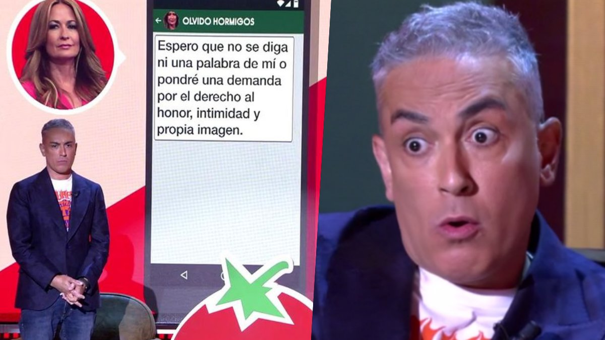 Kiko Hernández en 'Sálvame Tomate'.