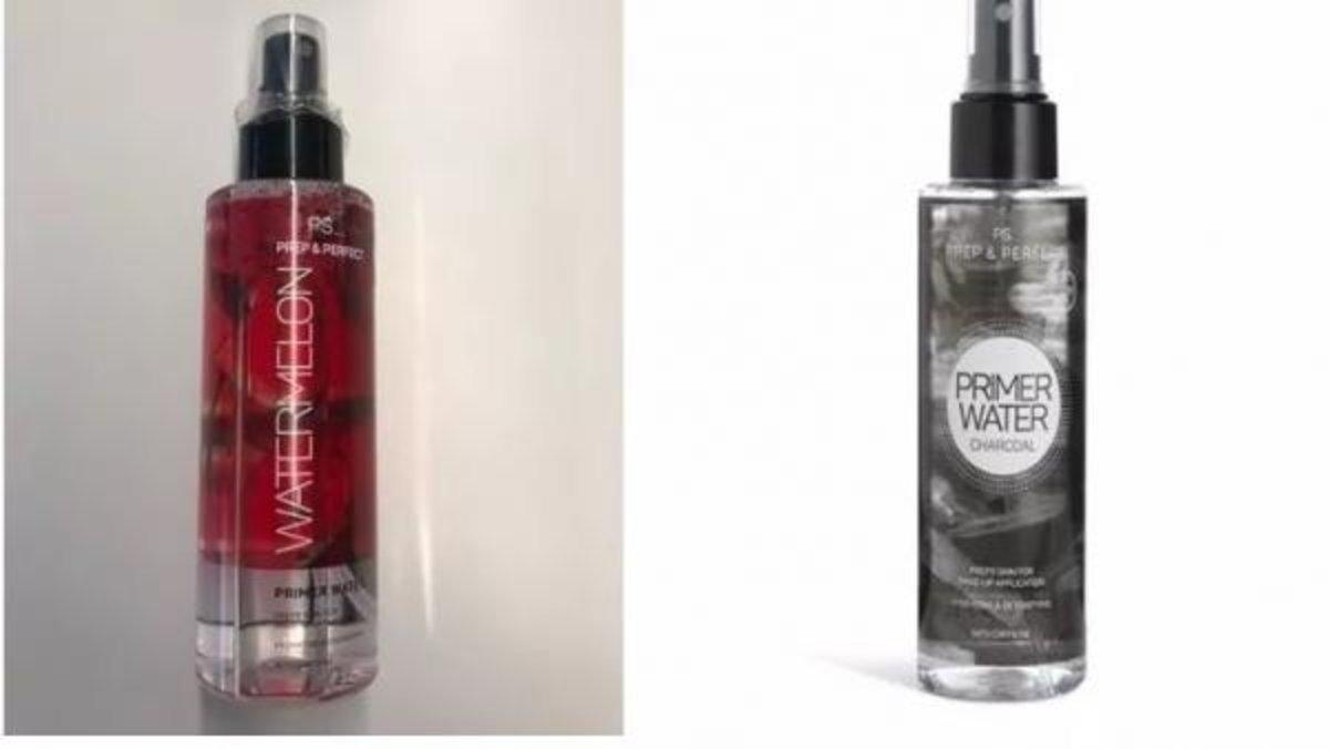 Sanidad retira dos cosméticos del Primark por contaminación microbiológica
