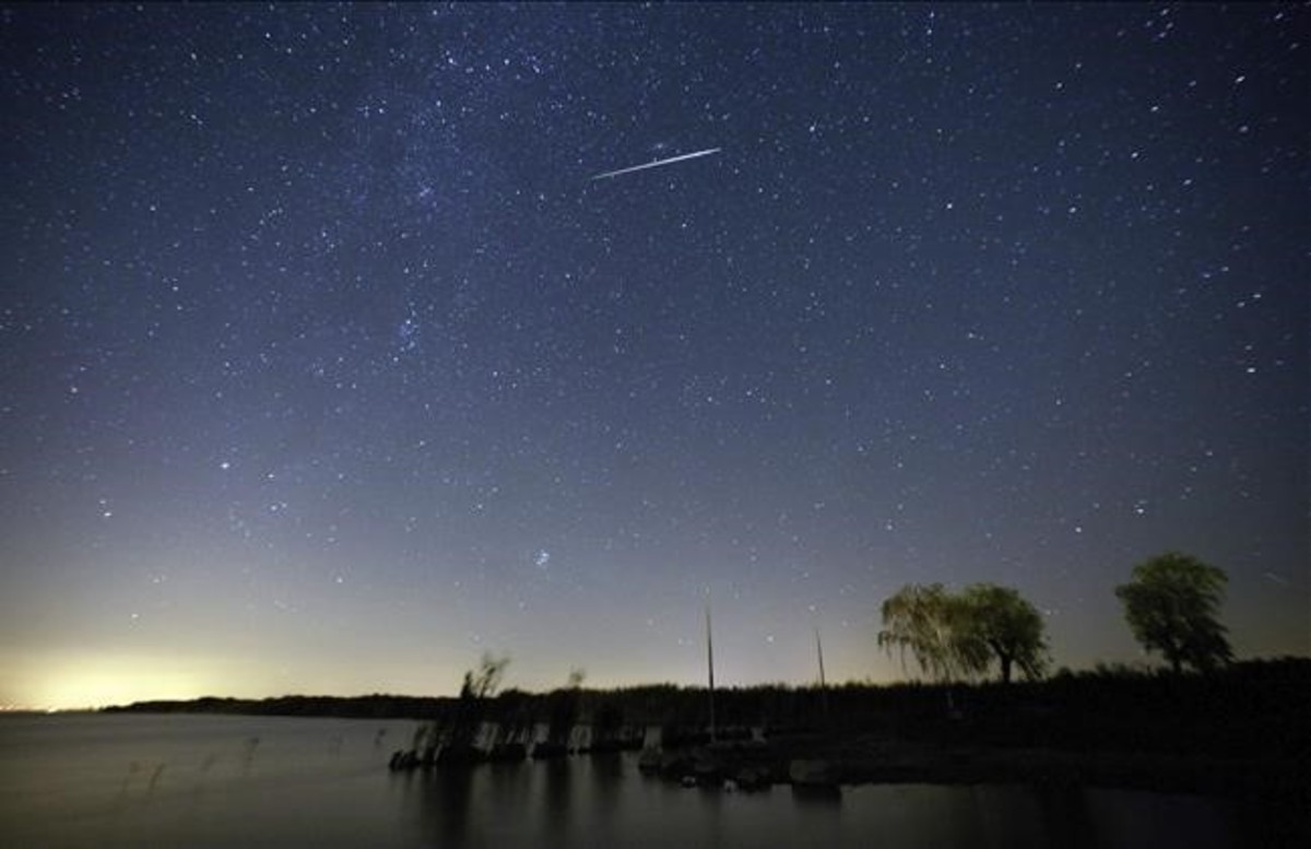 Lluvia de meteoros captada por la NASA en agosto de 2009 / Lanza