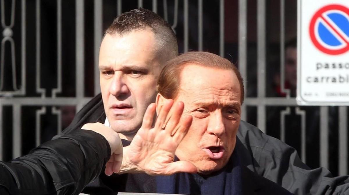 Silvio Berlusconi, hace unos días en Milán.