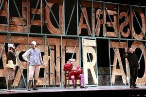 Imagen de archivo del estreno de 'Falstaff'de los Amics de lÒpera de Sabadell.