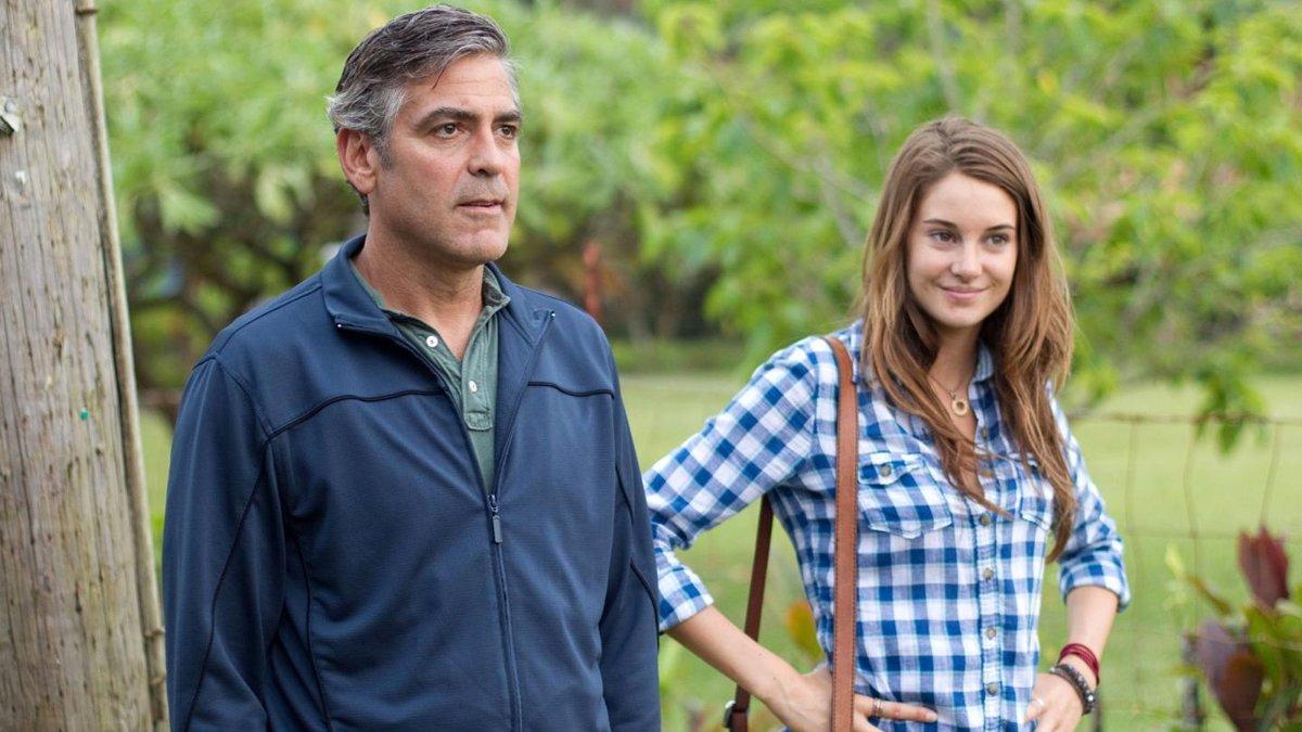 Telecinco emite 'Los descendientes', con George Clooney y Shailene Woodley