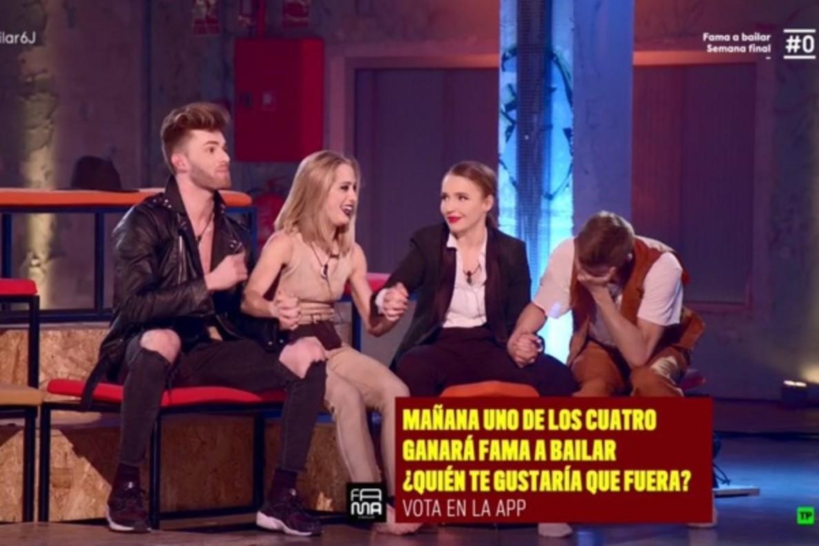 'Fama a bailar' | Pablo, Ester, Wondy y Adrián lucharán por la victoria en la gran final