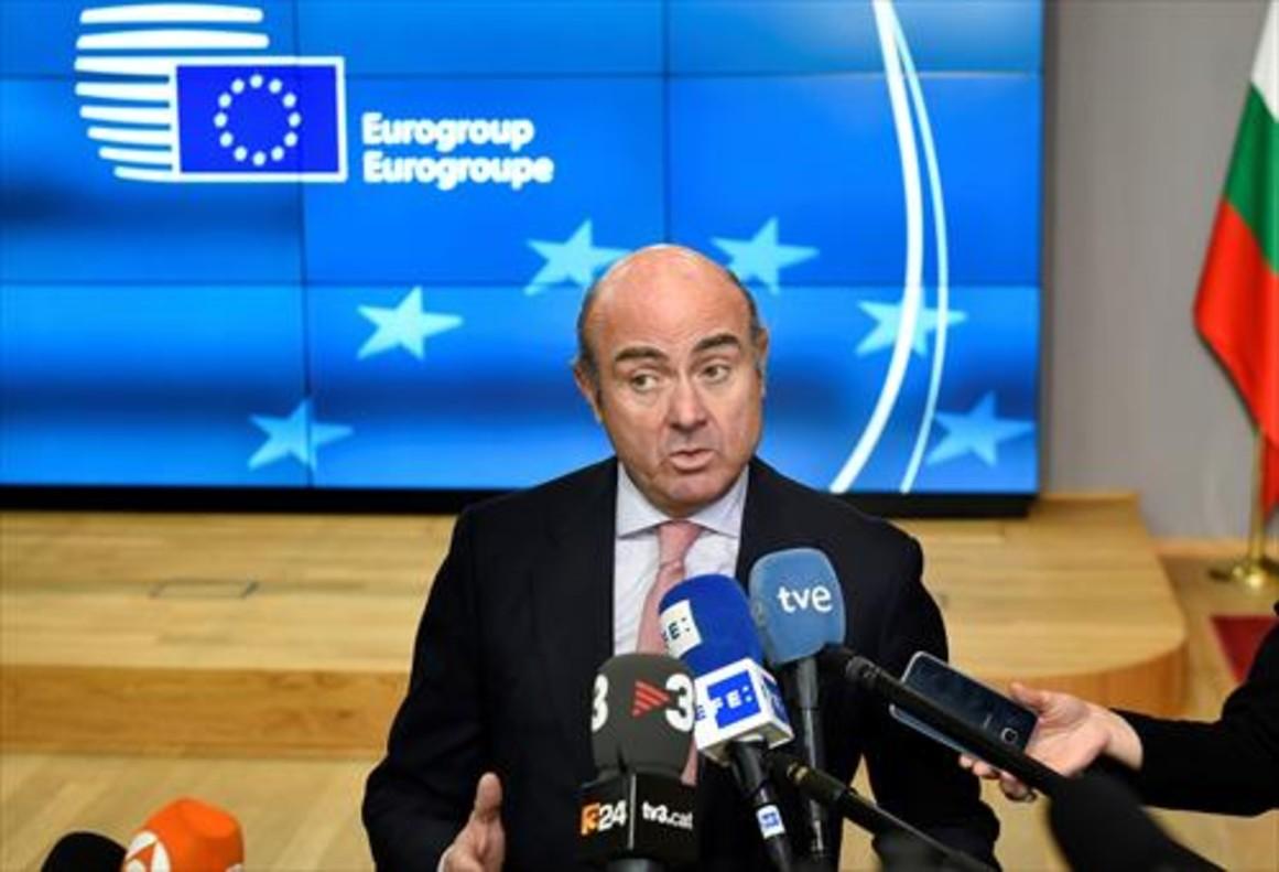Luis de Guindos vicepresidente del BCE.
