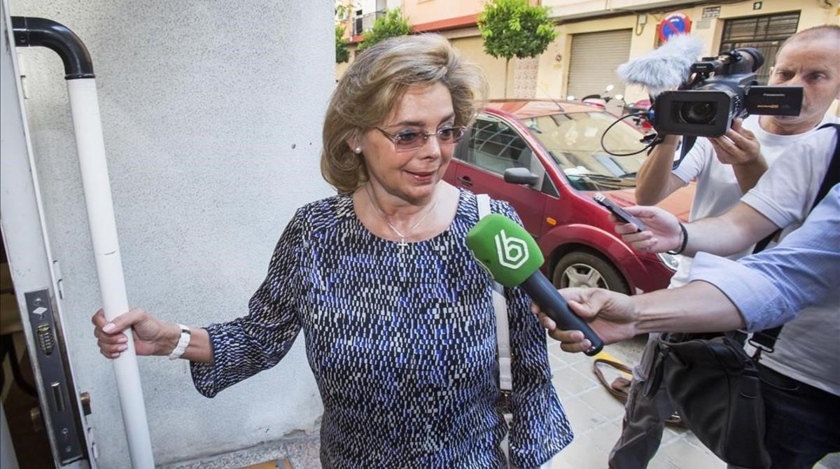 María José Alcón, exconcejala del Ayuntamiento de Valencia.