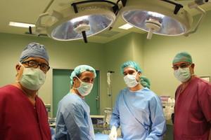 Médicos del Hopital Trias i Pujol de Badalona.