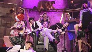 Montaje fotográfico de esta obra para cuatro actores que interpretan amuchos más personajes.
