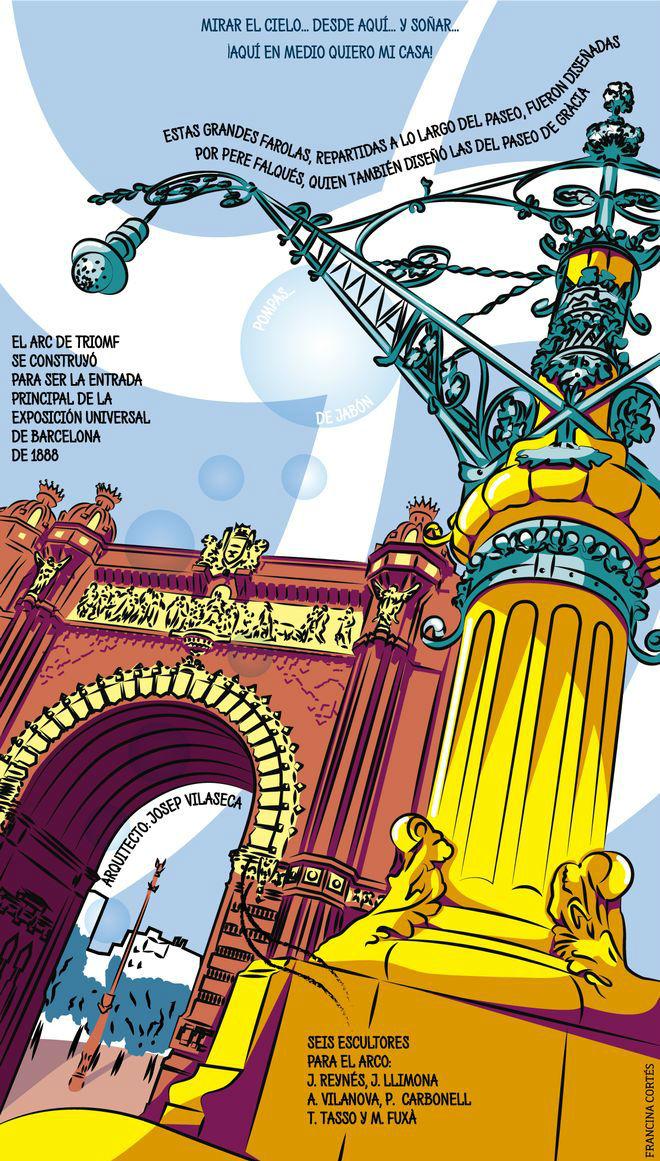 El fervor de la ciudad en el Arc de Triomf