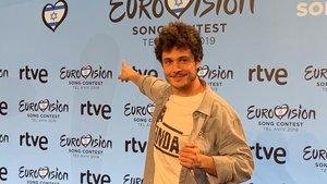 """Rueda de prensa de Miki tras ganar la preselección: """"No creo que nadie vea Eurovisión como un marrón"""""""