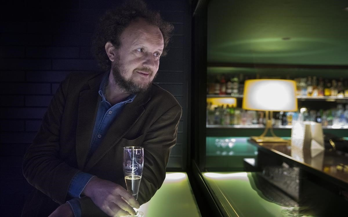 Poldo Pomés, en el restaurante Il Giardinetto, que abrió su padre en 1973 y que él tutela desde el 2009.