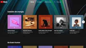 Portada de Youtube Music.