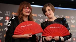 Premios Goya 2018. Isabel Coixet y Carla Simón.