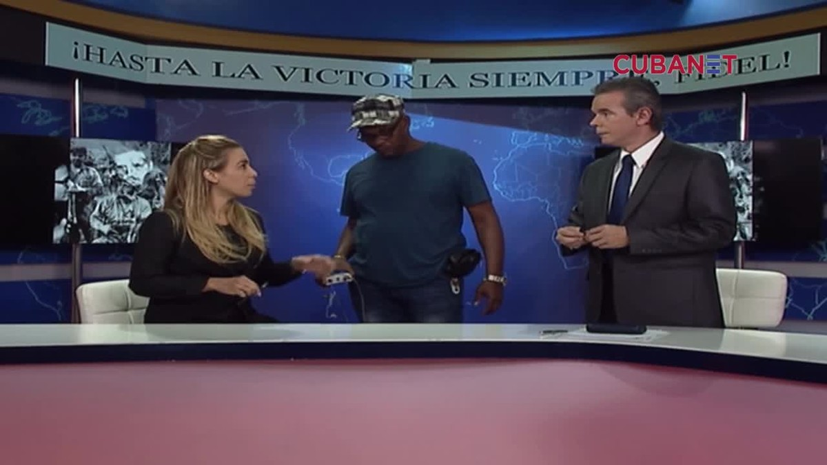 Un vídeo muestra a dos presentadores de la televisión cubana discutiendo el veto a decir buenos días.
