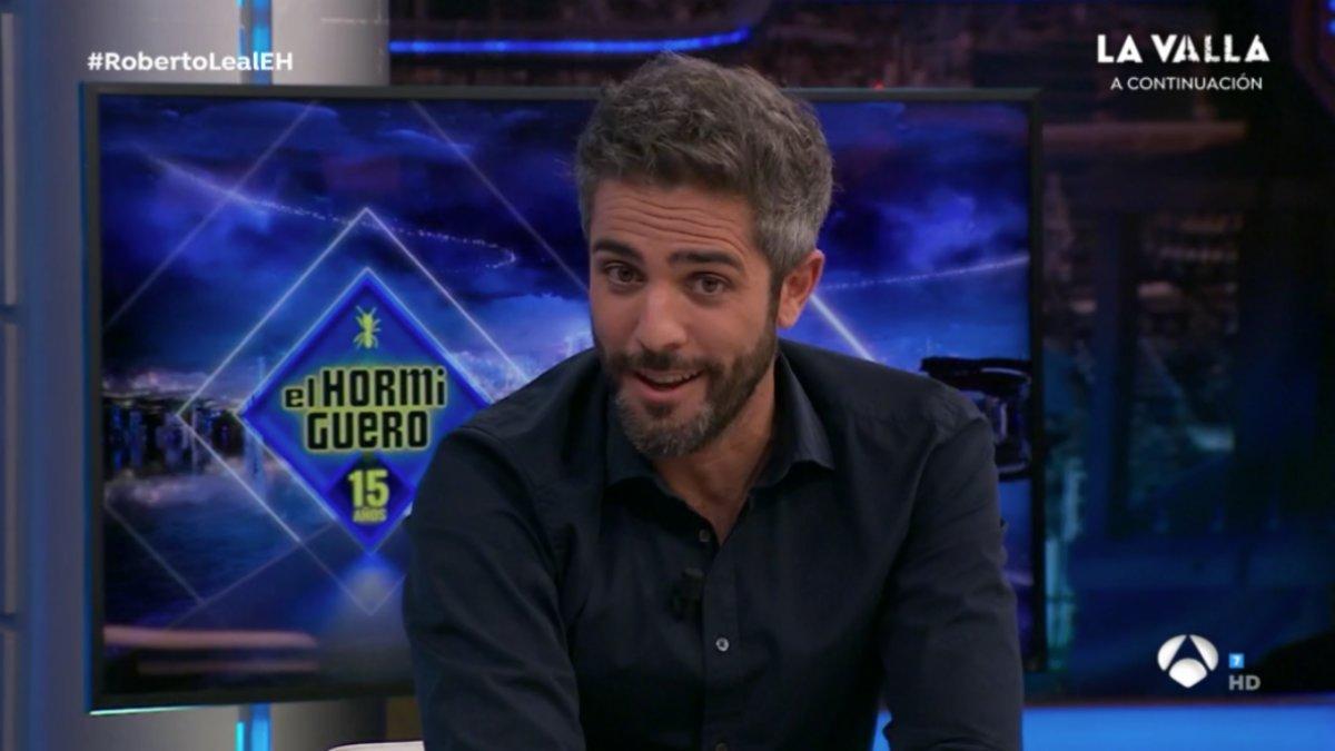 Roberto Leal en 'El hormiguero'.