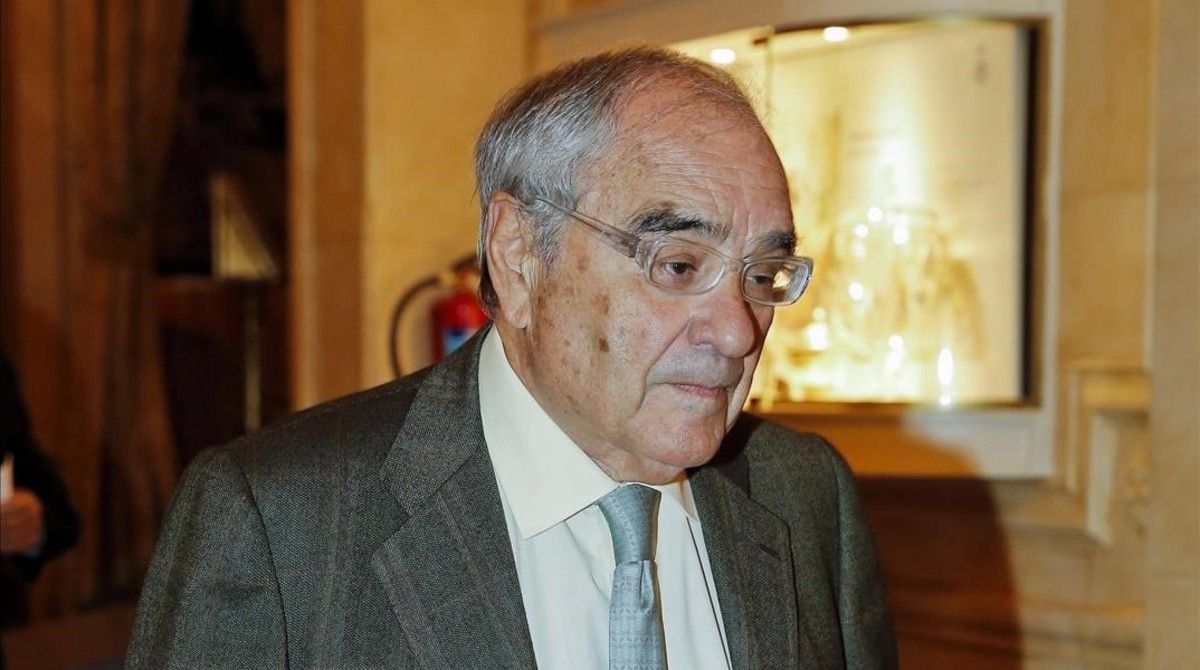 Rodolfo Martín Villa, en un acto en Madrid en el 2014.