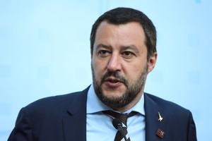 Matteo Salvini en una imagen de archivo