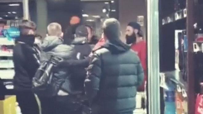 Esclata una baralla en un supermercat de Nàpols