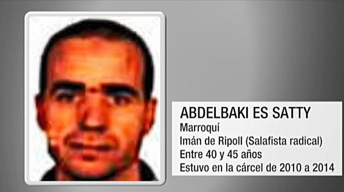 Abdelbaki EsSatti, imán de Ripoll y presunto cerebro de los atentados en Catalunya.