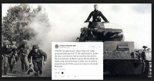 Tecnología e historia: relatos históricos en diferido por Twitter
