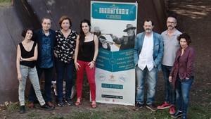 Los autores del torneo de dramaturgia de este año.