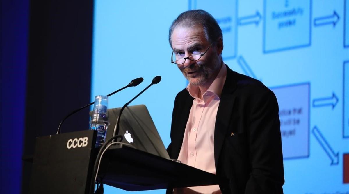 Timothy Garton Ash, en el CCCB.