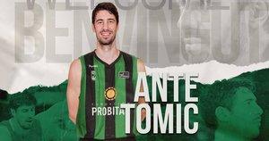 Tomic, nuevo fichaje verdinegro