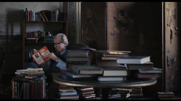 Una librería, una casa