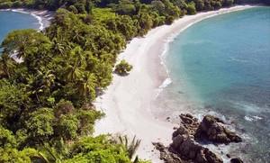 Una playa de Costa Rica.