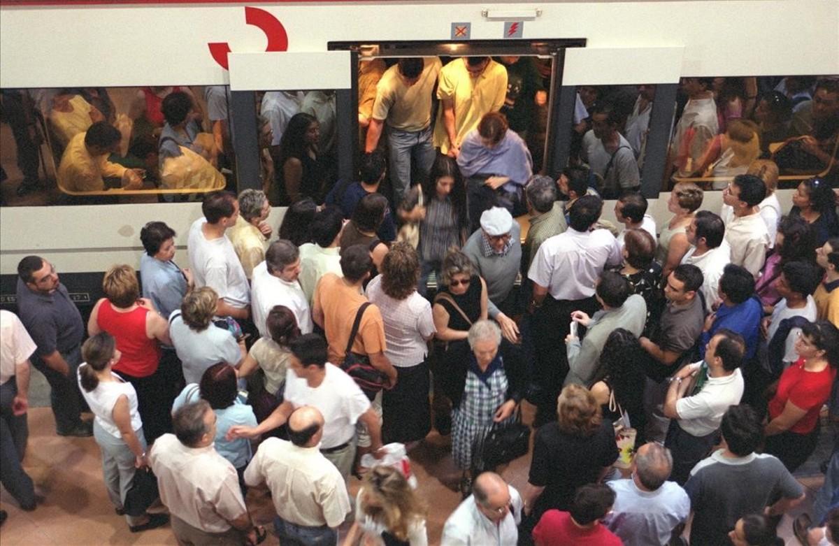 Imagen de la madrileña estación de metro de Atocha.