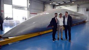 Hyperloop, el tren del futur, podria ser una realitat en cinc anys