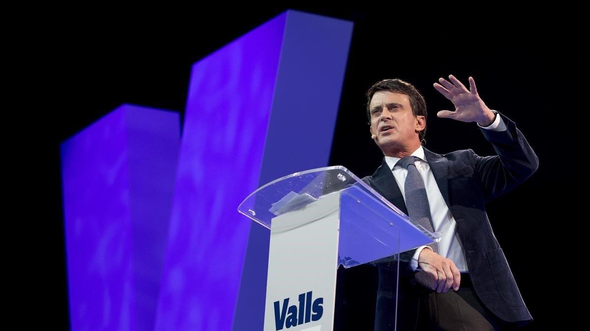 Valls presenta su campaña electoral.