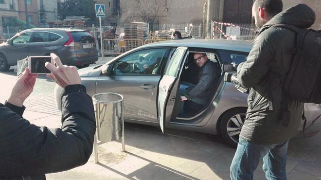 Vídeo del moment de la detenció de Joan Coma a Vic.