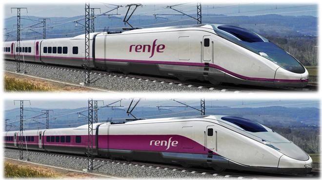 Vídeo del nuevo tren Avril de Talgo que ha ganado el concurso de Renfe