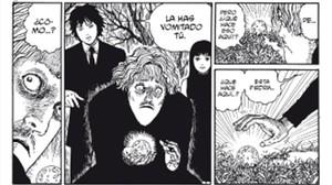 Viñeta deJunji Ito, que visitará el Salón del Manga.