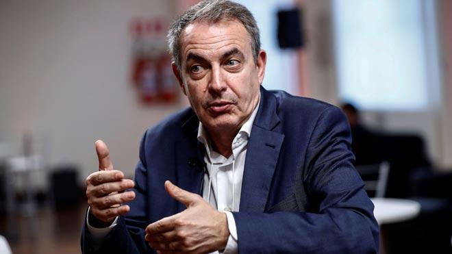 Zapatero: «Ens portarà anys recuperar el que s'ha perdut l'última dècada a Catalunya»