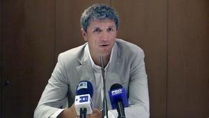 Imagen de archivo de George Popescu, que fue capitán del Barça en la temporada 1996-1997.