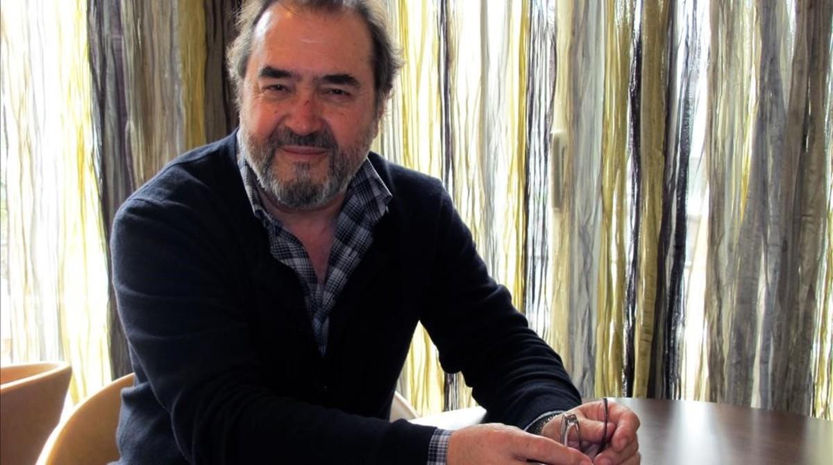 El cantautor Patxi Andión.
