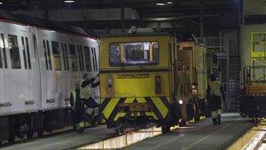 Ascendeixen a 49 els vagons del metro de Barcelona amb pintura amb amiant