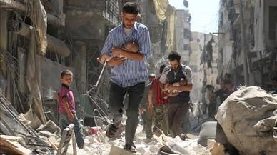 Síria, com la guerra d'Espanya